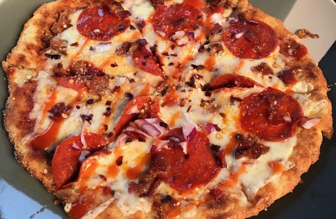 Ketogenic Homemade Pizza